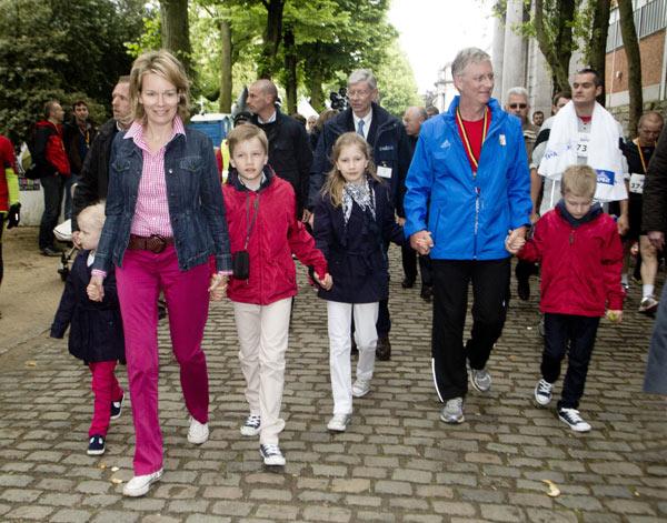 Felipe de Bélgica, un Príncipe a la carrera
