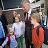 Vuelta al cole para los cuatro hijos de los Reyes de Bélgica
