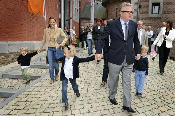 Laurent de Bélgica se 'olvida' de su tercer hijo