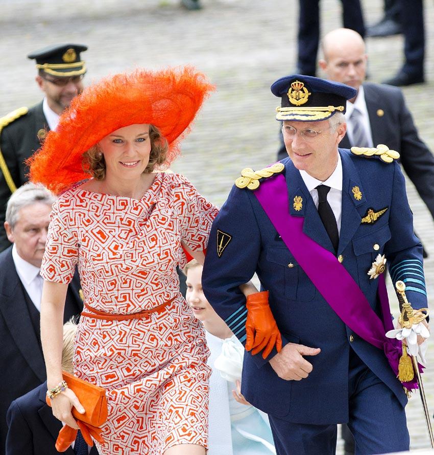 Felipe y Matilde de Bélgica cumplen su primer año en el trono