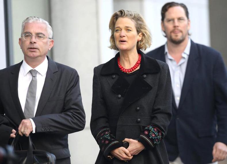 Delphine Boël defiende en los tribunales ser hija ilegítima del rey Alberto de Bélgica