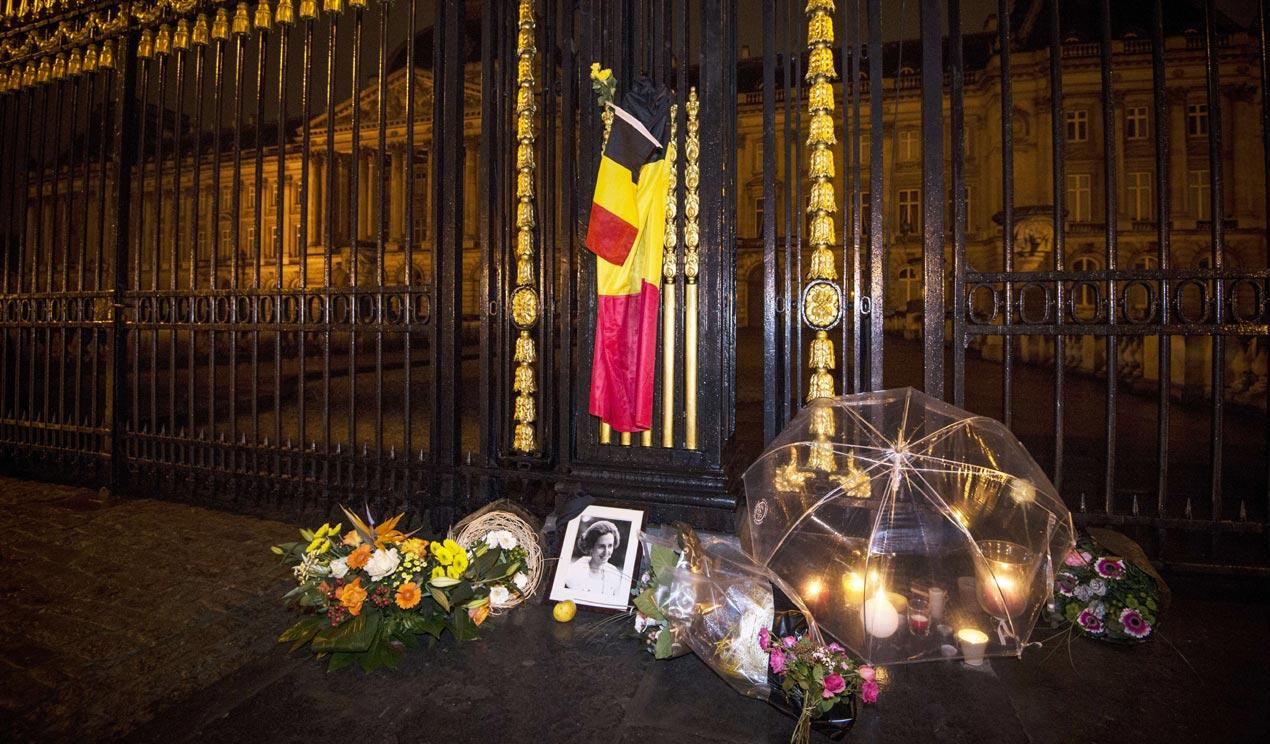 En imágenes, una vida de amor y compromiso con el pueblo belga