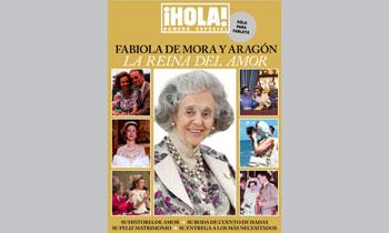 ¡HOLA! pone a la venta, exclusivamente para tablets, el especial 'Fabiola de Mora y Aragón. La Reina del amor'
