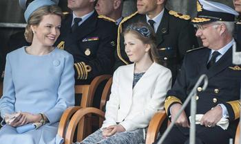 Elisabeth de Bélgica, referente de la nueva generación de pequeños herederos al trono