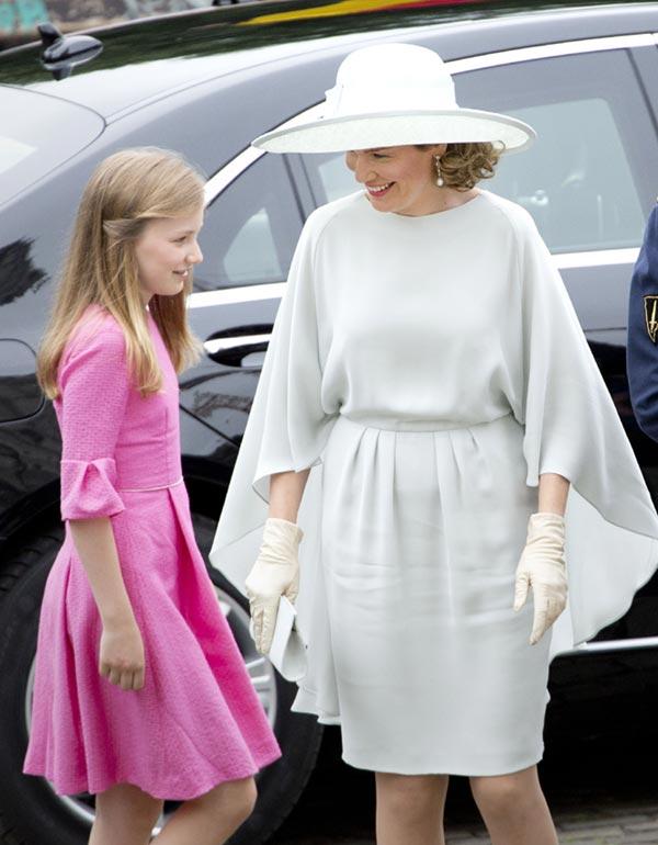 Elisabeth de Bélgica, toda una princesa en el Día Nacional