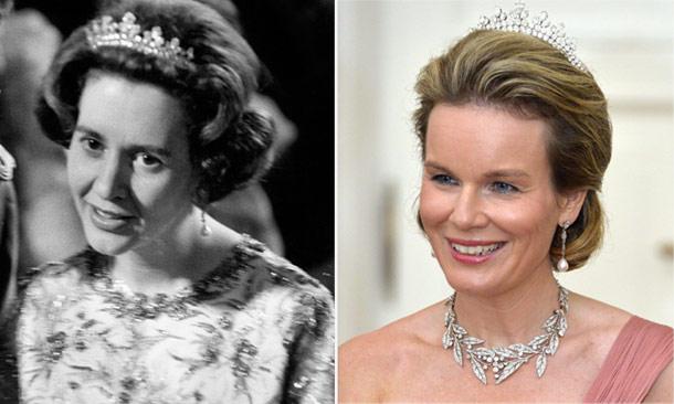 Matilde de Bélgica estrena una tiara de la recordada reina Fabiola
