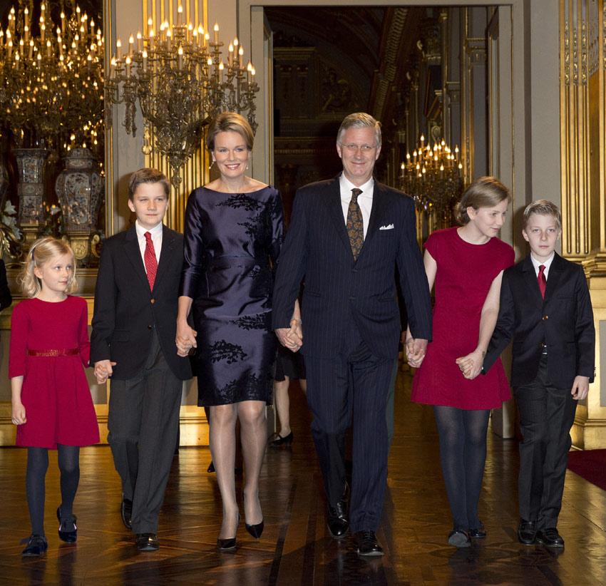 Felipe y Matilde de los belgas y sus hijos celebran el Concierto de Navidad por primera vez sin otro apoyo familiar
