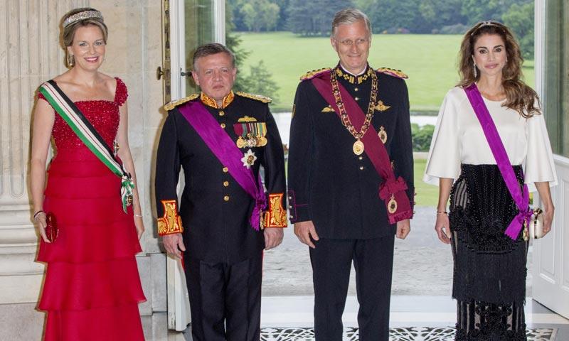 Rania y Matilde, la noche en la que Oriente y Occidente se encontraron en palacio
