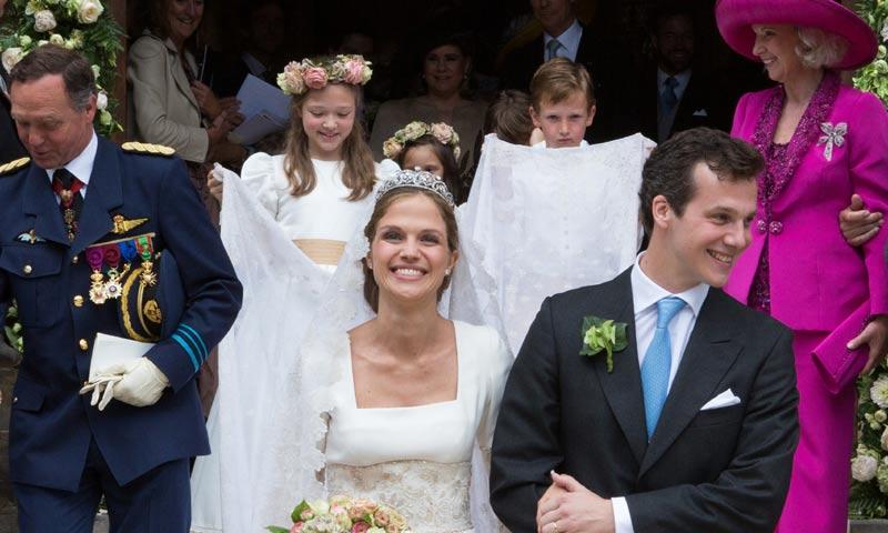 Fotogalería: Una boda 'casi' Real en Bélgica