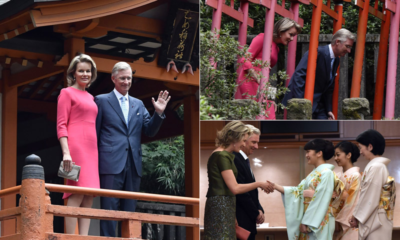 FOTOGALERÍA: Entre tradición y modernidad, los Reyes de Bélgica en viaje oficial a Japón