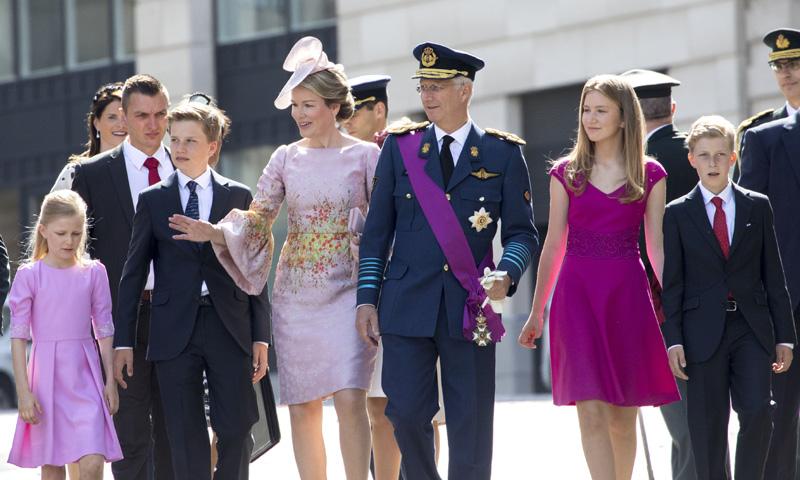Día Nacional de Bélgica: el día que la reina Matilde se 'Maximiza' y la princesa heredera Elisabeth 'reina'