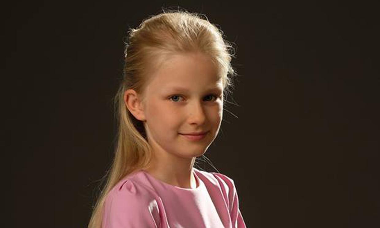 La princesa Eléonore de Bélgica cumple once años