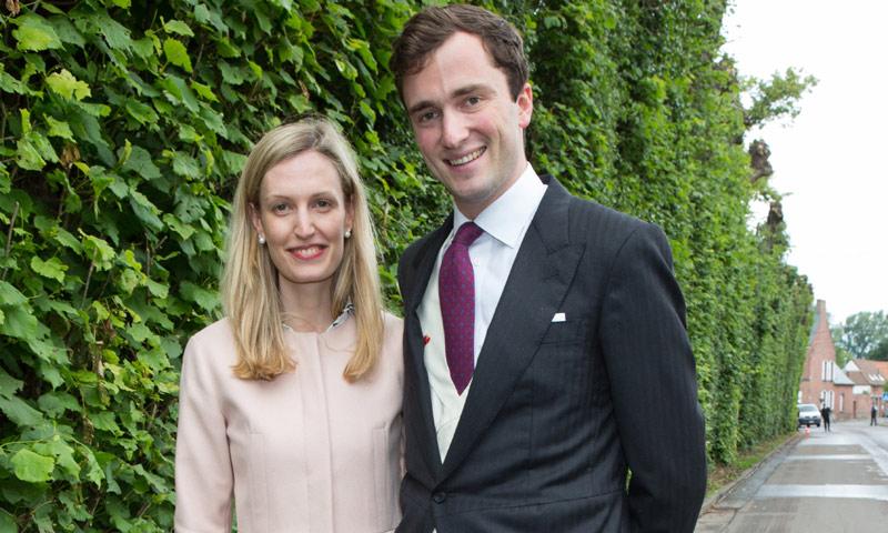 Amadeo de Bélgica, hijo de la princesa Astrid, y Lili Rosboch esperan su segundo hijo