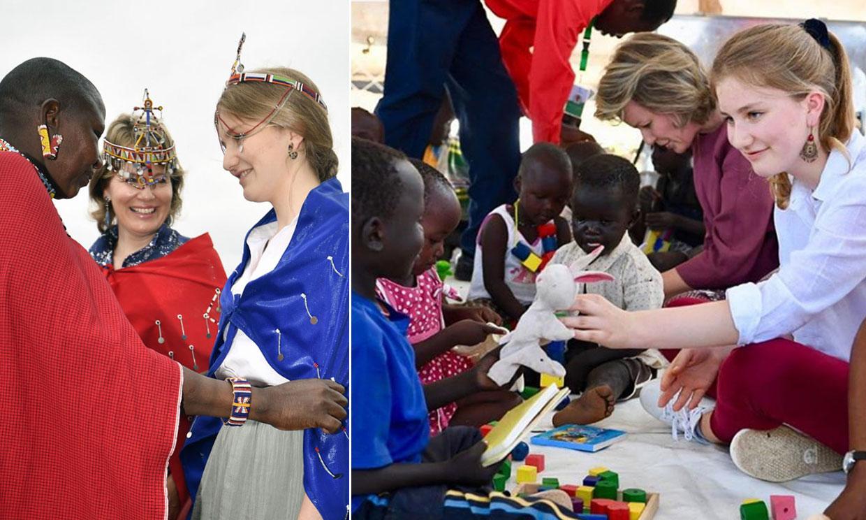 Elisabeth de Bélgica, 'entusiasmada' por su viaje oficial a Kenia