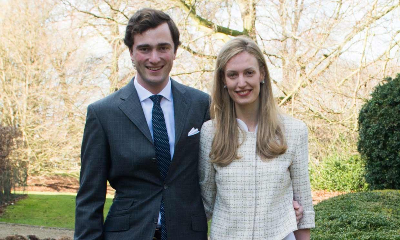 El príncipe Amadeo de Bélgica y Lili Rosboch dan la bienvenida a su segundo hijo
