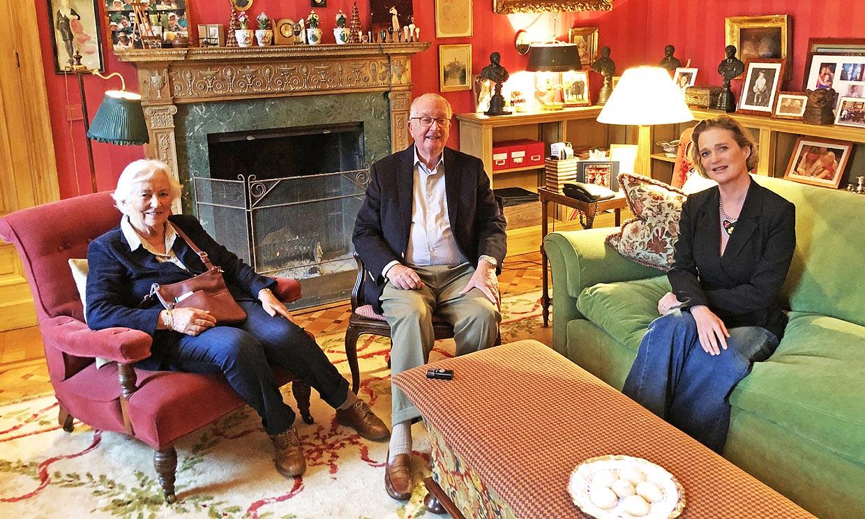 Delphine Boël conoce a su padre, Alberto de Bélgica, y a la reina Paola: 'Se ha abierto un nuevo capítulo'