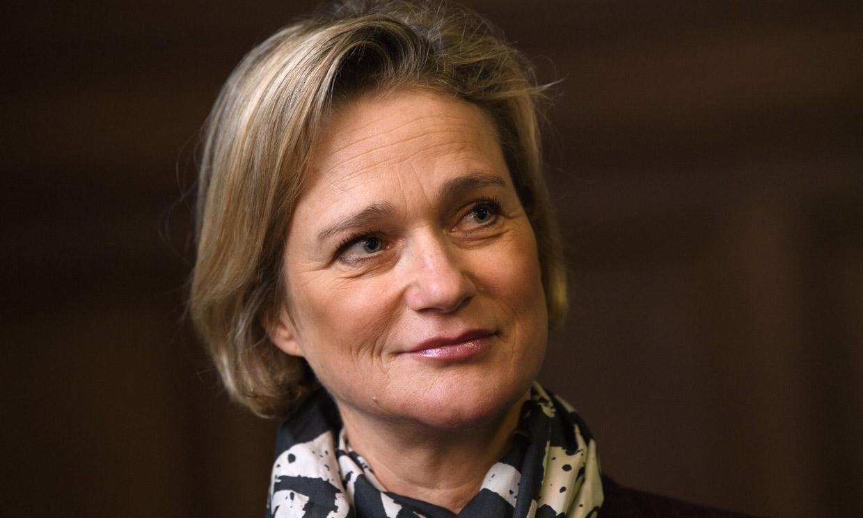 Primera aparición oficial de Delphine Boël como princesa de Bélgica