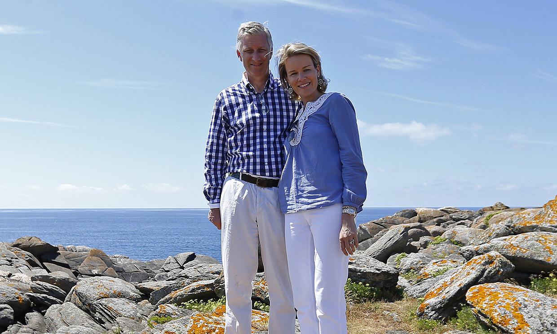 La razón por la que la casa de veraneo de Felipe y Matilde de Bélgica ha desatado una polémica en Francia