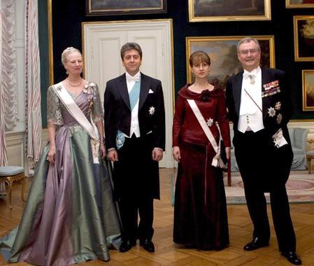 Mary de Dinamarca, radiante en la cena de gala en honor al Presidente búlgaro