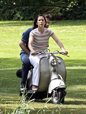 Federico y Mary de Dinamarca: 'vacaciones en motocicleta'