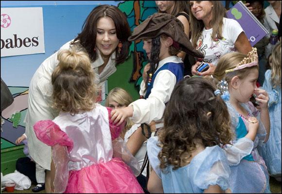 Mary de Dinamarca: 'princesa de guardería'