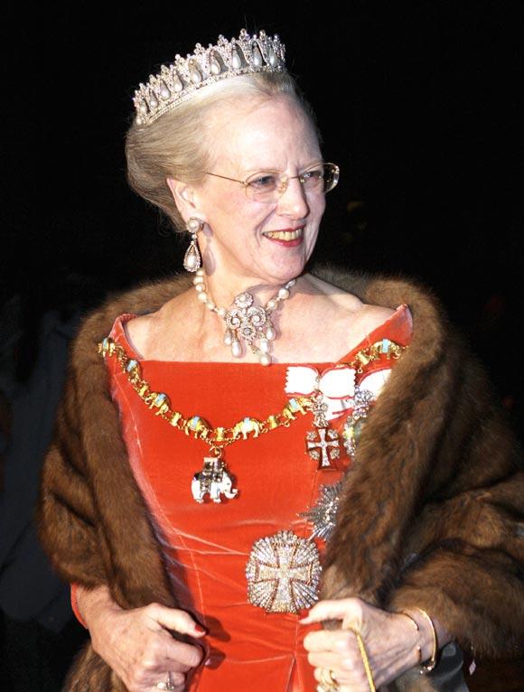 La princesa Mary de Dinamarca, deslumbrante en la cena de gala de año nuevo