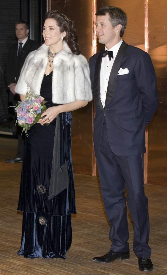 La Familia Real danesa se viste de largo para inaugurar el nuevo Teatro Real