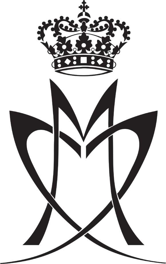 El romántico monograma oficial del príncipe Joaquín y su prometida, Marie Cavallier
