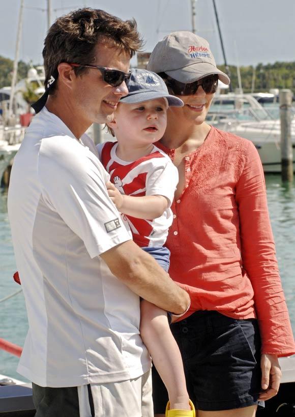 Las imágenes más cariñosas del príncipe Federico y la princesa Mary de Dinamarca