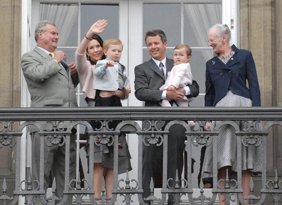 Federico de Dinamarca festeja su 40º cumpleaños en familia y con sus conciudadanos
