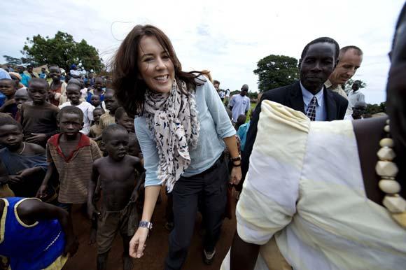 Mary de Dinamarca, una nueva Princesa contra las minas antipersona