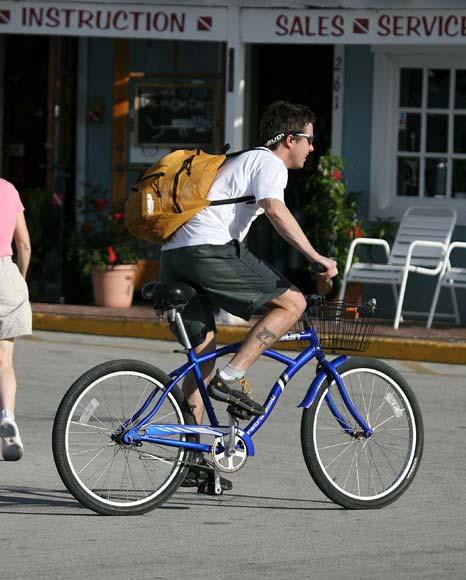 El príncipe Federico participa de incógnito en una carrera de 'mountain bike'