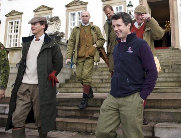 La Familia Real de Dinamarca asiste a su tradicional cacería en Fredensborg