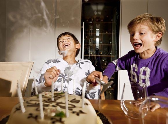 Tres tartas y tres celebraciones para Nicolás de Dinamarca por su décimo cumpleaños