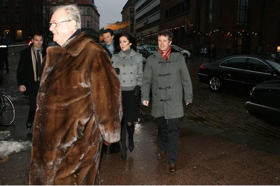La Misa de Navidad reúne a la Familia Real danesa
