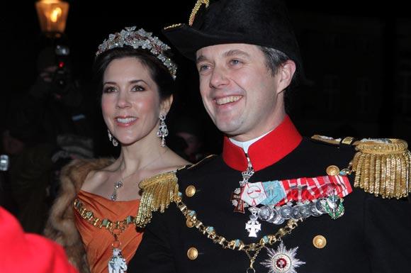 Solemne recepción de Año nuevo de la Familia real danesa