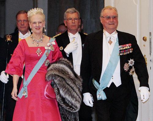 Primera gran fiesta de cumpleaños en el palacio de Christianborg