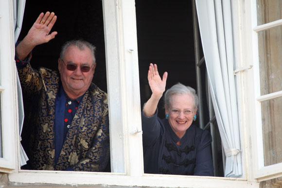 La realeza canta a Margarita de Dinamarca por su 70º cumpleaños