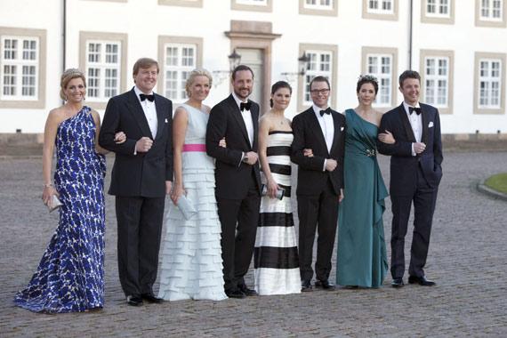 Los futuros reyes de Europa se reúnen en la gran noche de Margarita de Dinamarca