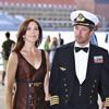 Los príncipes Federico y Mary, dos futuros papás muy elegantes, en el 500º aniversario de la Marina Real danesa