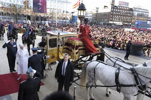La realeza escandinava acompaña a Margarita de Dinamarca en las celebraciones por sus 40 años en el trono