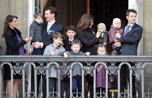 La última aparición pública de la princesa Marie de Dinamarca antes de dar a luz