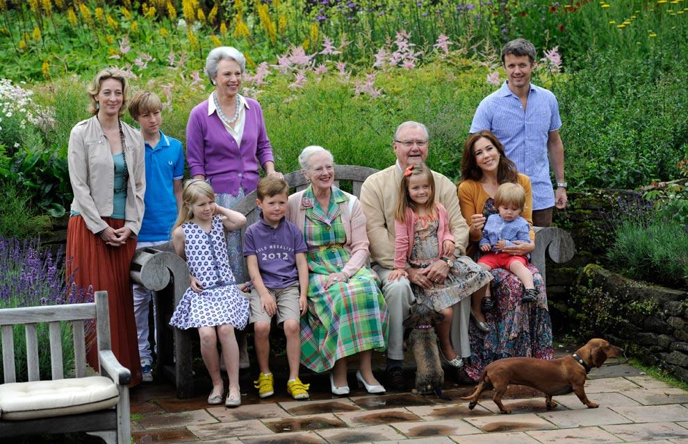 Familia real Dinamarca Daneses-7-a
