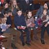 El príncipe Vincent y la princesa Josephine de Dinamarca asisten a su primer Concierto de Navidad