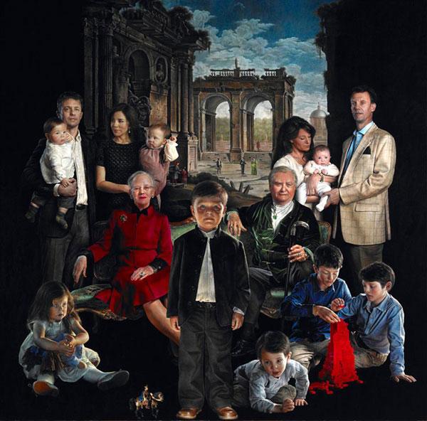 El nuevo retrato de la Familia Real danesa