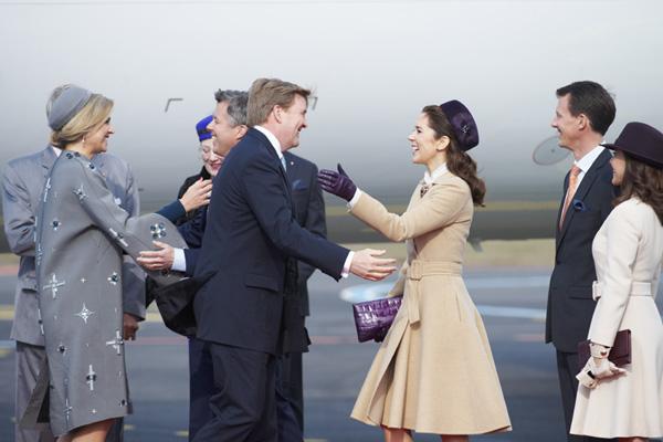 El esperado encuentro de Máxima de Holanda y Mary de Dinamarca