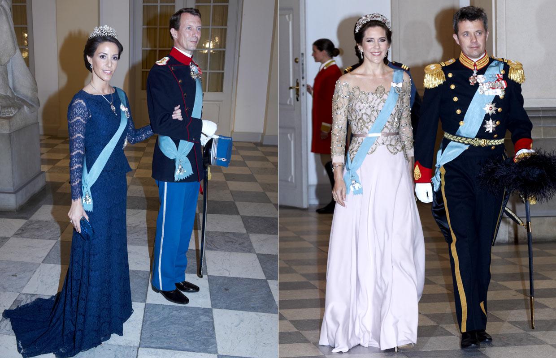 La realeza europea se reúne en Copenhague para felicitar a Margarita