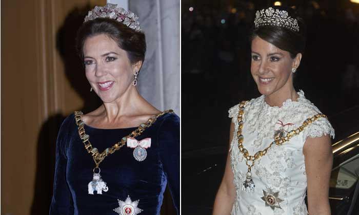 Lección de estilo de la Familia Real danesa para recibir el Año Nuevo