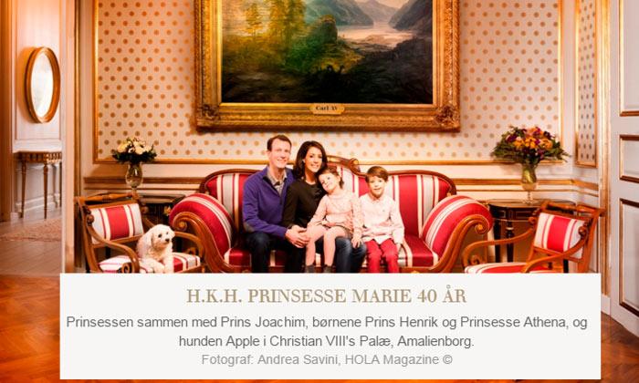 ¡HOLA!, la revista que entra en los palacios... y se queda
