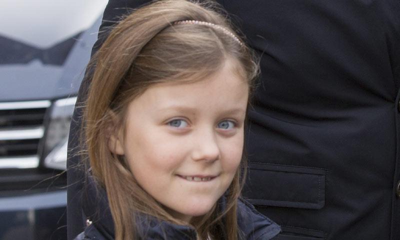 Isabella de Dinamarca, clavadita a papá